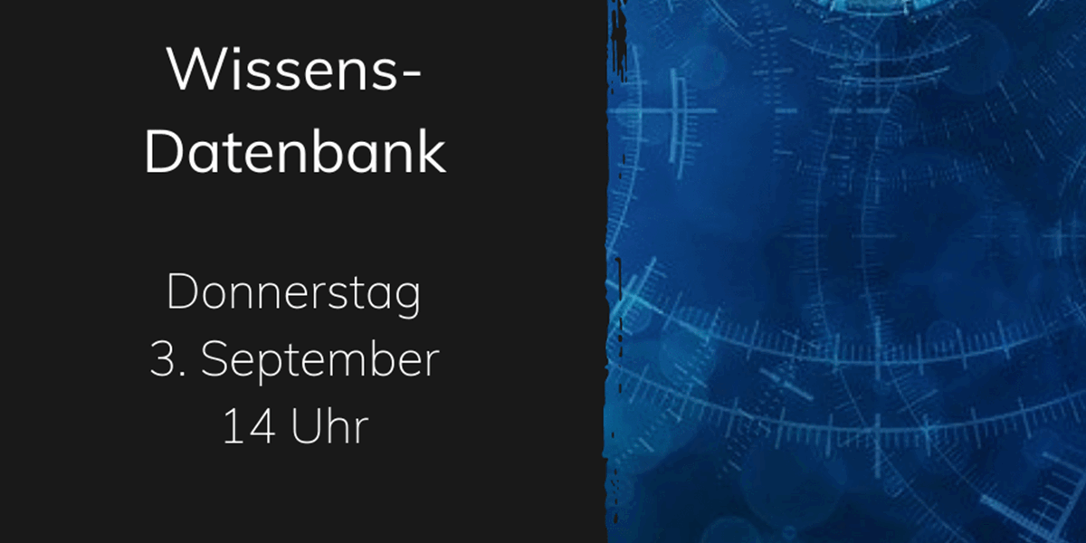 Image of webinar: wissens-datenbank
